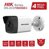 Camara De Seguridad Hikvision Ds-2cd1043g0-i H265+ Poe