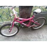 Bicicleta Numero 20 Niña.