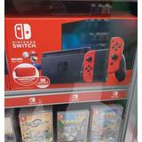 Nitendo Switch Nuevas + 5 Juegos Fisicos Gratis