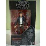 Figura Han Solo Black Series 6 Pulgadas