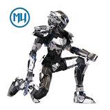 Mu Diy 3d Robot Puzzle Metal Modelo Nano Core Bader