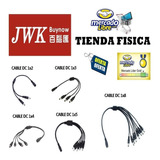 Cable Dc Power Splitter Cctv 1x2,1x3,1x4,1x5y1x8 Jwk Vision