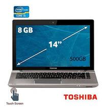 Laptop Toshiba Tactil I5 8gb 500gb Excelente Estado