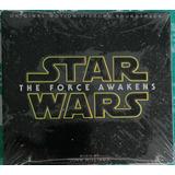 Star Wars The Force Awakens Original Soundtrack Nuevo Sellad