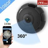 Camara Wifi Panoramica Fisheye 360 Grados Hd 1080p Jwk