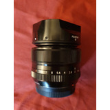 Fujifilm 35mm F 1.4 Impecable