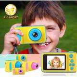 Camara Fotos Digital Niños Infantil Pantalla Recargable Sd..