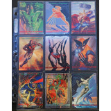 Marvel Trading Cards 1991 1992 1993 Tarjetas Casi Completas
