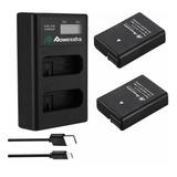 Kit Baterias Y Cargador Nikon En-el14 D3100/d3200/d3300/d340