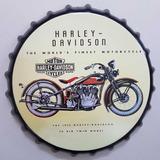 Chapas Decorativas Colección Coca Cola Pepsi Harley Davidson