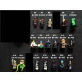 Muñecos, Minifiguras Lego Originales, Star Wars, Marvel