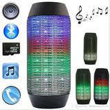 Parlante Bluetooth Luz Led Audio Ritmico Usb Pulse Bt Speake