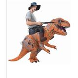 Disfraz De Dinosaurio Inflable (nuevo)