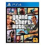 Gta V Grand Theft Auto 5 Para Ps4 Entrega Inmediata