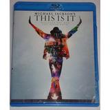 Película Bluray Original This Is It - Michael Jackson Widesc
