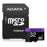 Adata Micro Sd 32 Gb Uhs-i Clase 10 Con Adaptador Sd