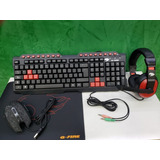 Combo Gamer G-fire Teclado/mouse/audifono/pad