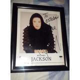 Vendo Autógrafo De Michael Jackson