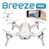 Drone Yuneec Breeze Compact 4k Uhd Flying Selfie 13mp