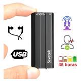 Ec Grabadora Audio/microfono Espia/oculto Llave Maya 8gb 45h