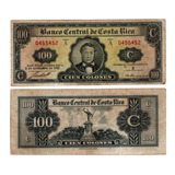Billete De Costa Rica 100 Colones Collection's Numismátic