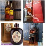 Licores (whiskeys)