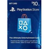 $10 Psn Card - Código Digital - 100% Seguro