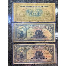 Billetes Antiguos De Costa Rica Jmg