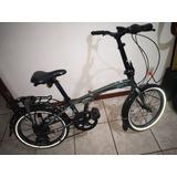 Bicicleta Plegable Wild Flex