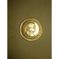 Moneda 2 Colones Oro Costa Rica Año 1900