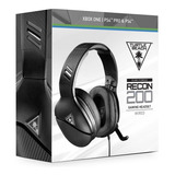 Headset Turtle Beach Recon 200 Ps4, Ps4 Pro, Xbox One, Ninte