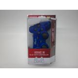 Control Inalambrico  Para Playstation 3 Azul (compured) Sj
