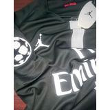 Camiseta Psg X Jordan (neymar, Mbappe, Draxler)