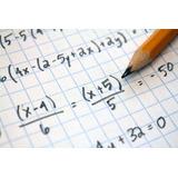Clases Particulares De Matemática Para Colegio/bachillerato