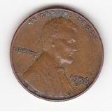 1956 D Lincoln 1 Centavo De Dolar Wheat Penny. U.s.a.