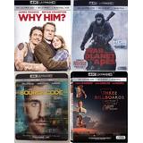 Lote De 4 Películas En 4k, Originales.