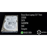 Disco Duro 2.5 Hdd 320gbs 7mm/9mm Para Laptop / Ps3/ps4/xbox