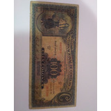 Billete Costa Rica 100 Colones Sabana Sin Resello Serie 3209