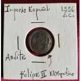 Moneda Imperio Español Felipe Ii