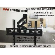 Soportes Tv, Led, Lcd, Plasma De 22 Hasta 55 Pulg, Full Acer