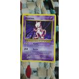 Pokemon Tarjeta Original Mewtwo