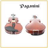 Violín 4/4 Paganini + Soporte P/hombro + Set De Cuerdas Extr