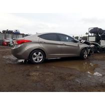 Hyundai Elantra 2013 Repuestos