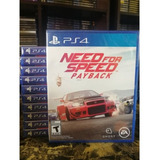 Need For Speed Payback Ps4 // Nuevo