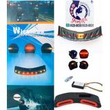 Luces Para Cascos De Moto Direcciónales Y Freno