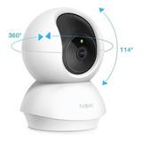 Cámara De Seguridad Wi-fi Rotativa Hd Tapo C200 / Itech