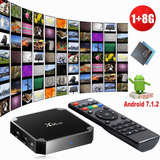 Tv Box Caja Android 7.1 Smart Tv X96mini Kodi17.6 Conregalia