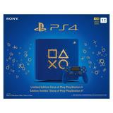 Consola Playtation Ps4 Azul 1 Tera
