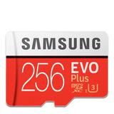 256gb Micro Sd Samsung U3 Evo Plus 100/90mb Excelente Veloci