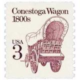 Us Sc #2252 - 1988 3c Conestoga Wagon Con Matasello.